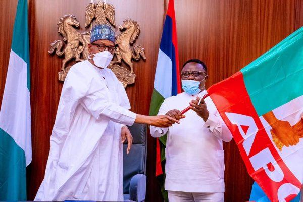 APC congresses now begin July 31, Buhari receives 'courageous' Ayade, Matawalle