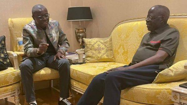 Sanwo-Olu visits Tinubu in London, declares APC leader hale, hearty